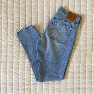 Levi's 501 Skinny Jeans in 'Lovefool'